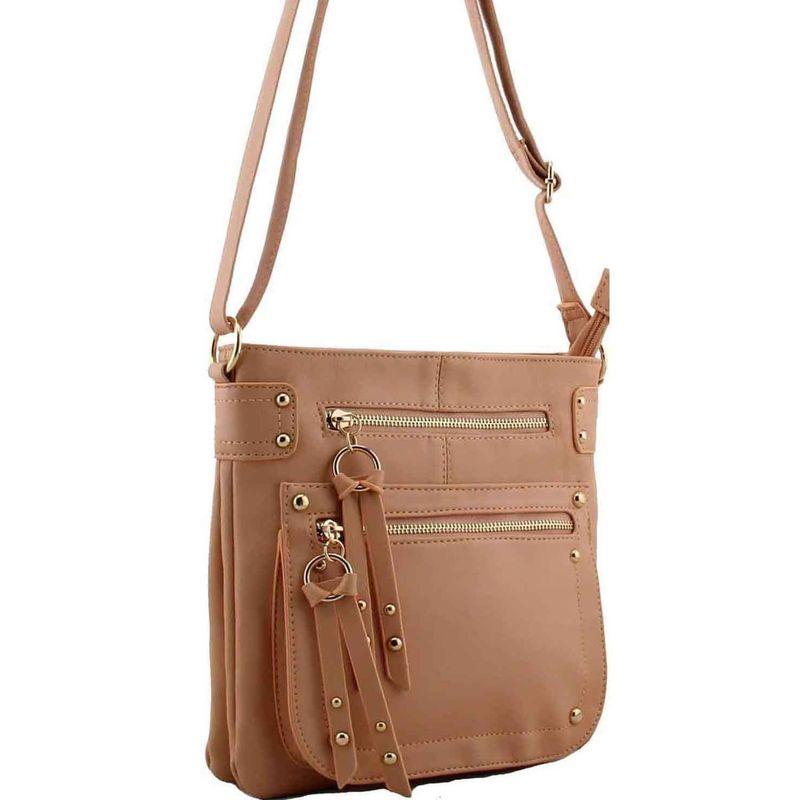 Pink Cross Body Shoulder Faux Leather Handbag Aldo