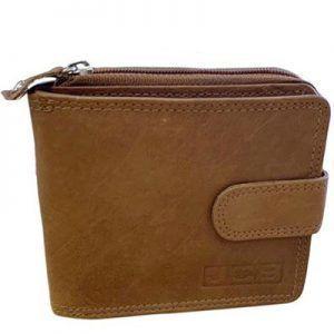 W43 Tan – JCB Mens Wallet