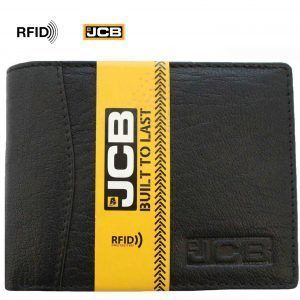 JCB Leather Mens Wallet