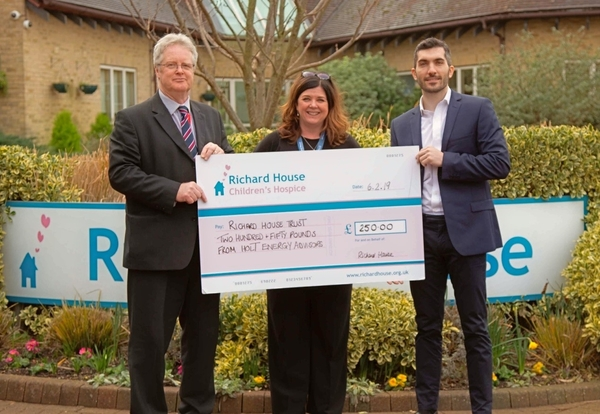 HEA and Richard House Children's Hospice agree charity partnership