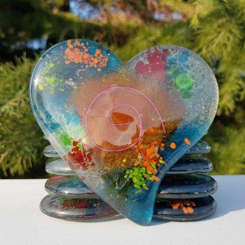 Niovi Coaster (Heart)