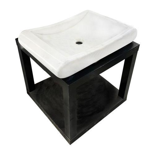 Mugla White Marble Sink