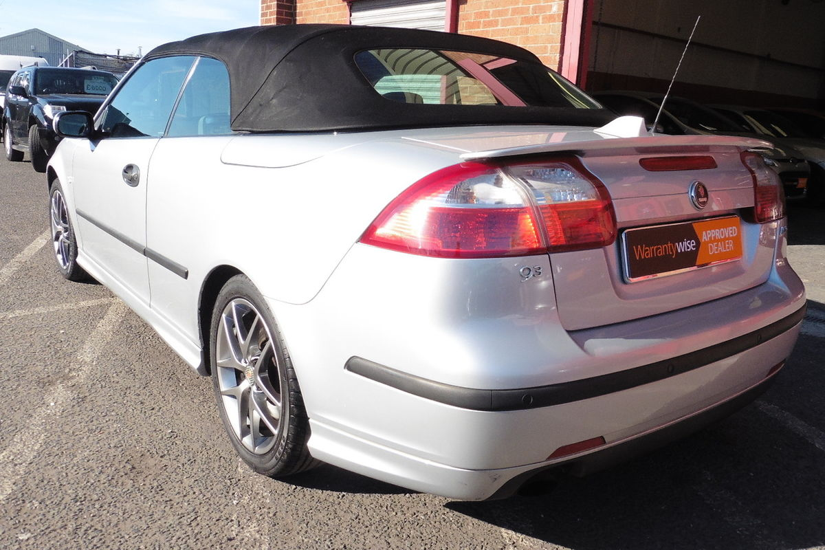 Saab 9-3 2.0 T Aero 2dr Convertible Auto - Full Leather Interior - Heated Seats