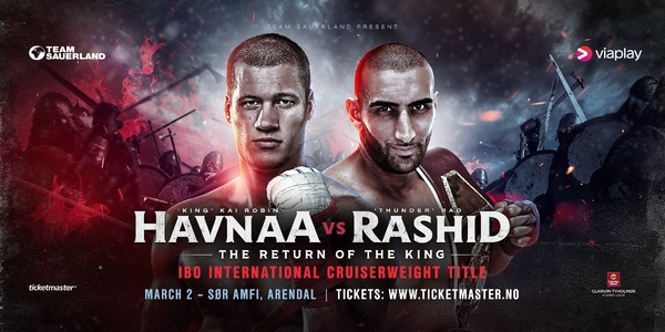 HAVNAA AND RASHID COME FACE-TO-FACE IN OSLO