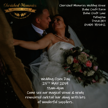 Wedding Open Day 25th May 2019