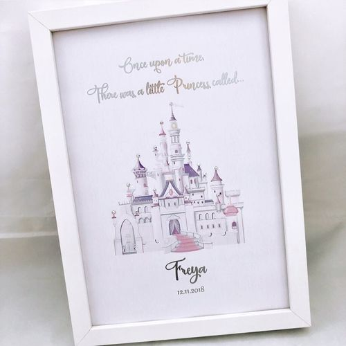 Princess Castle Personalised
