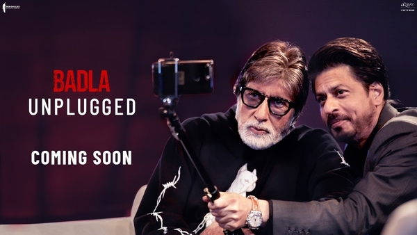 Amitabh Bachchan and Shah Rukh Khan shoot for special video for Badla