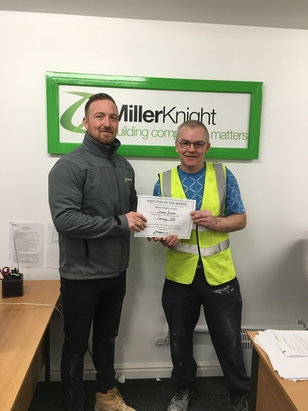 Rewarding Outstanding Work - Employee of the Month - February 2019