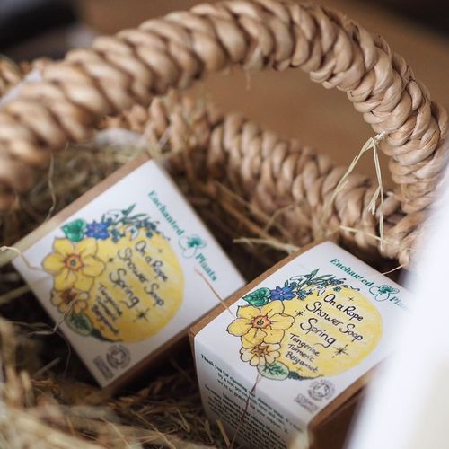 Spring on a Rope Shower Soap