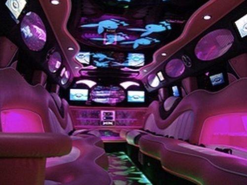 Pink Playboy Super Stretch Hummer Limousines