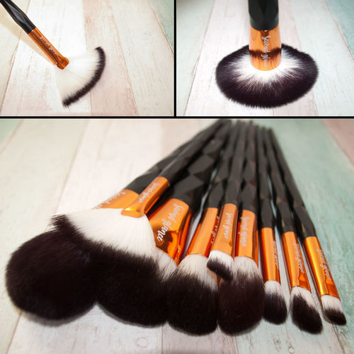 Black Brush Set