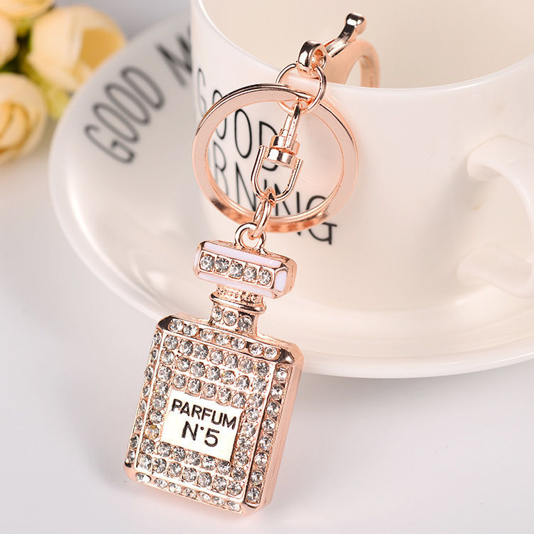 Diamante Parfum Keychain clear