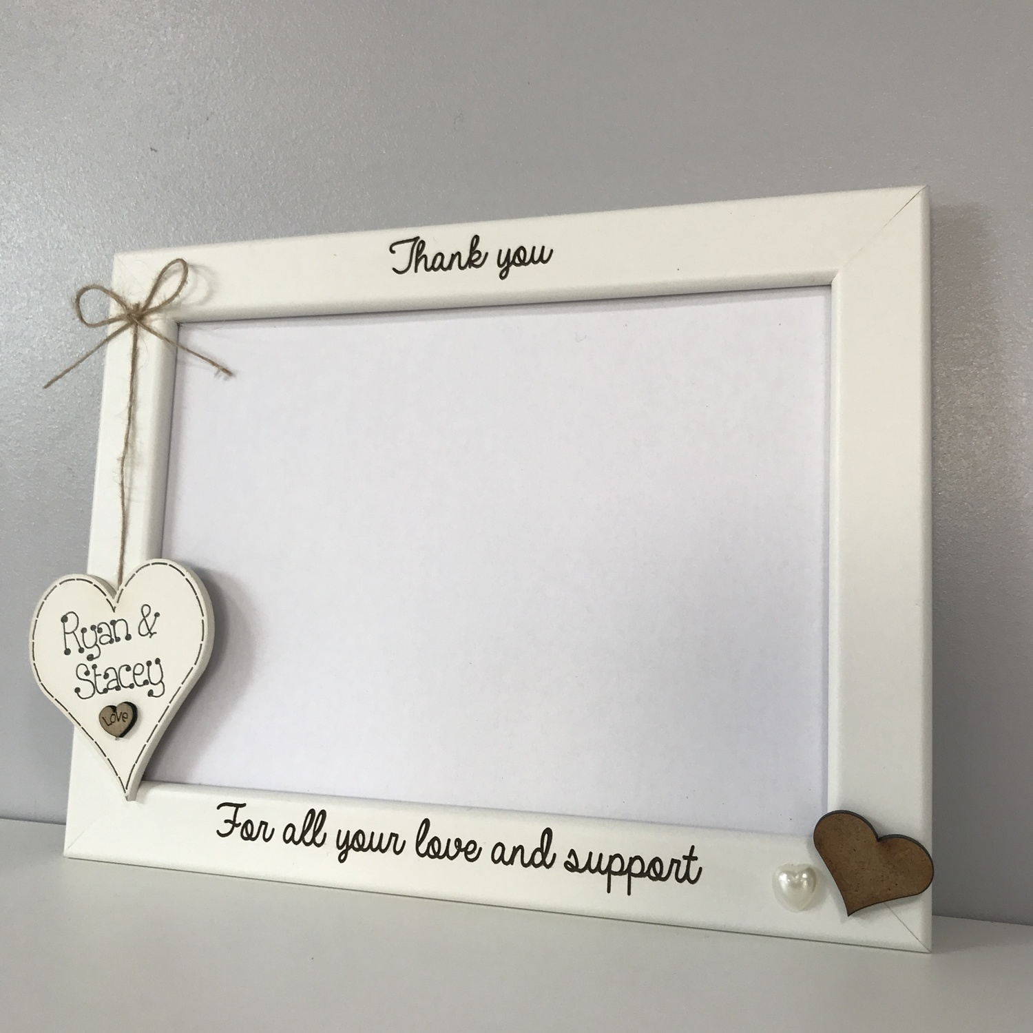 PERSONALISED Wedding Thank You Family /& Friends Signs Wedding Reception Plaque