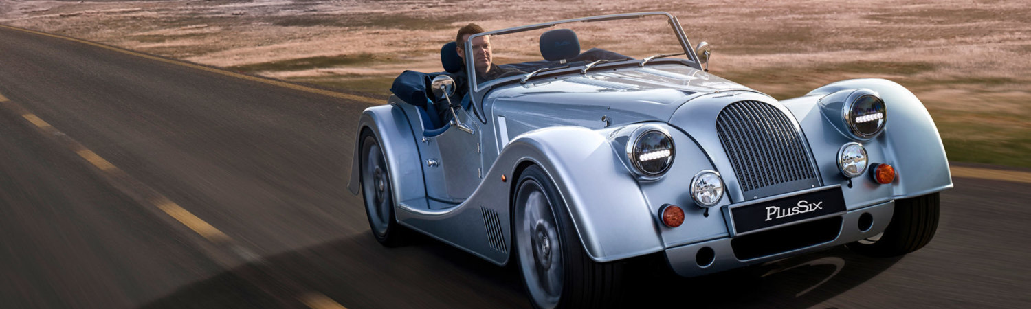 The new Morgan Plus Six