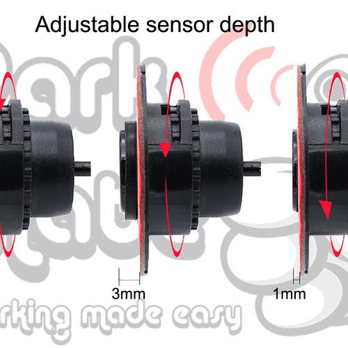 Audio Buzzer Flush Fit Front Parking Sensors Park Mate PM320