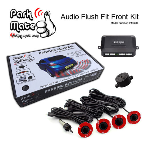 Audio Buzzer Flush Fit Front Parking Sensors Park Mate PM320