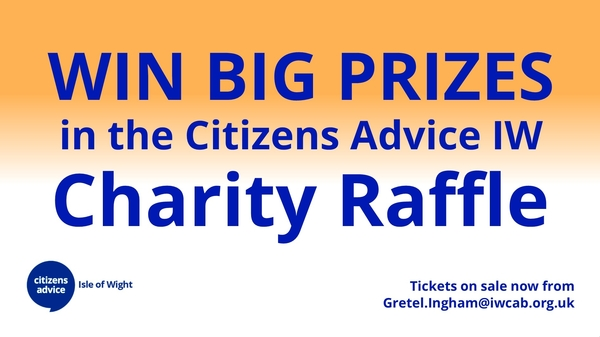 The Citizens Advice Charity Raffle - Full list of our incredible prizes!