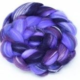 Dyed Merino and Silk Blend Tops 100g