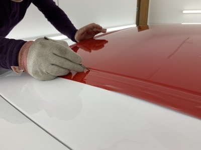 Vinyl wrapping