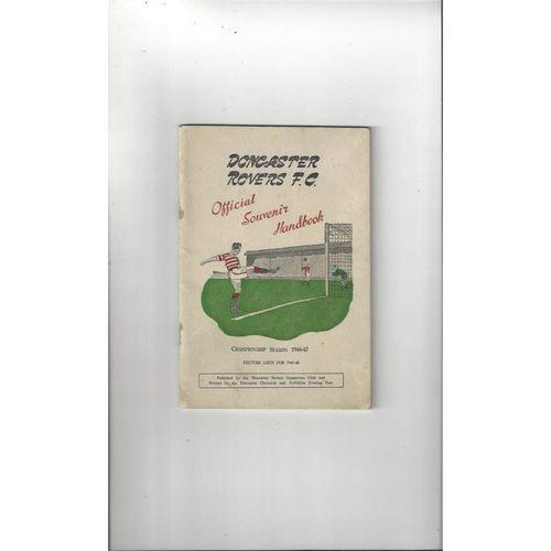 Doncaster Rovers Official Souvenir Football Handbook 1946/47