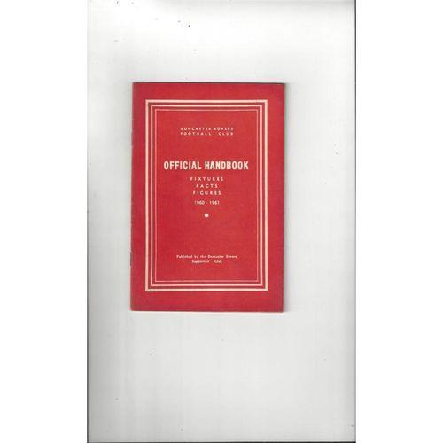 Doncaster Rovers Official Football Handbook 1960/61