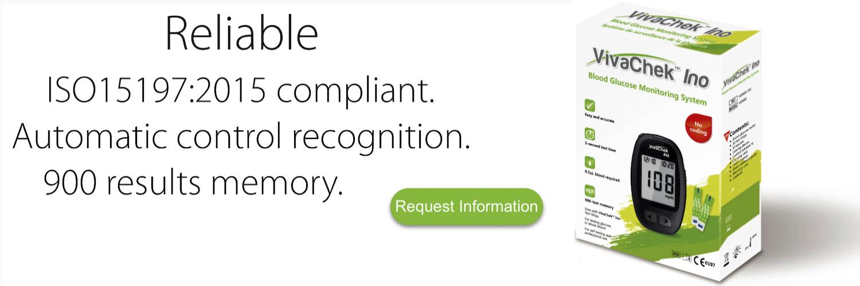 ISO15197:2013 compliant VivaChek