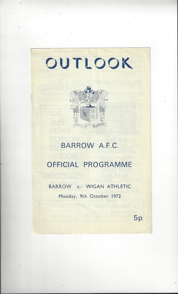 More Football Programmes & Memorabilia listed today