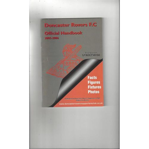 Doncaster Rovers Official Football Handbook 2005/06