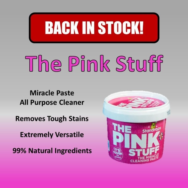 Pink Stuff all purpose cleaner Mrs Hinch recommended tough stains remover