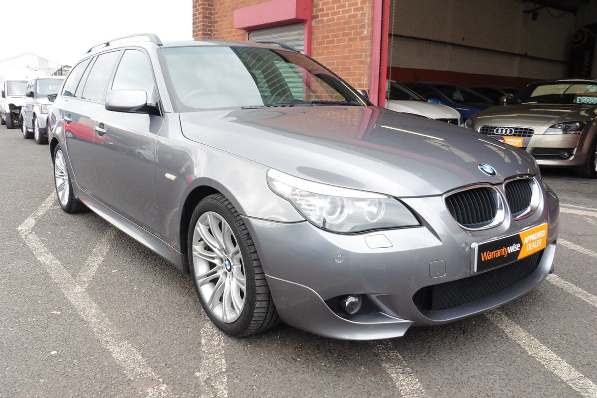 BMW 520d M-Sport Touring 5dr - SAT NAV - Bluetooth Connectivity - Half Leather!