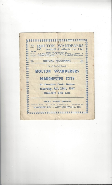 Football Programmes listed today