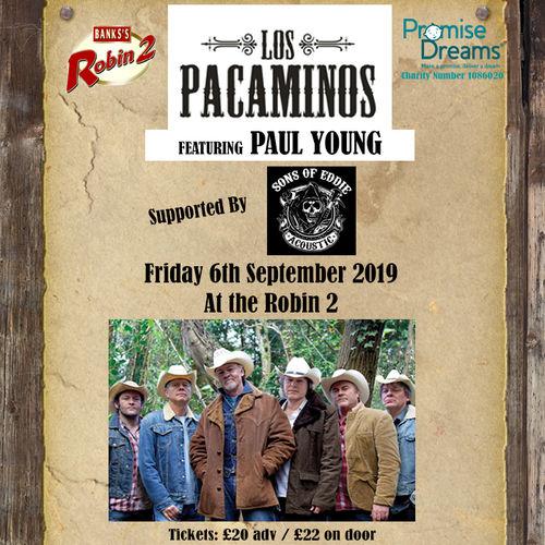 Los Pacaminos Live Gig at The Robin 2