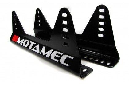 Motamec Racing GT02 Race Seat Fiberglass Shell Side Mount BLACK - NON FIA