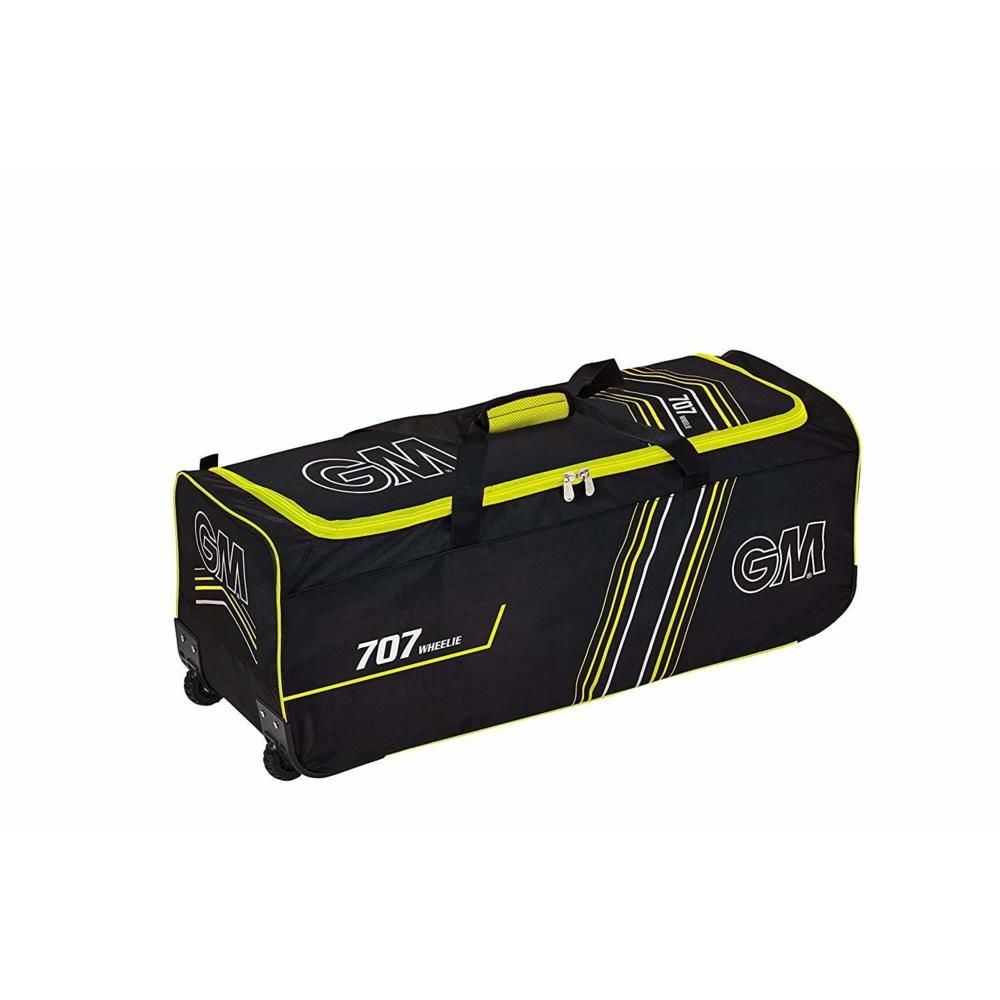 GM 707 Wheelie Bag Black and Yellow