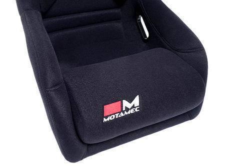 Motamec Racing GT03 Race Seat Fiberglass Shell Side Mount BLACK - NON FIA