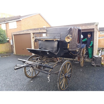 Original Victorian Landau ref (781872)