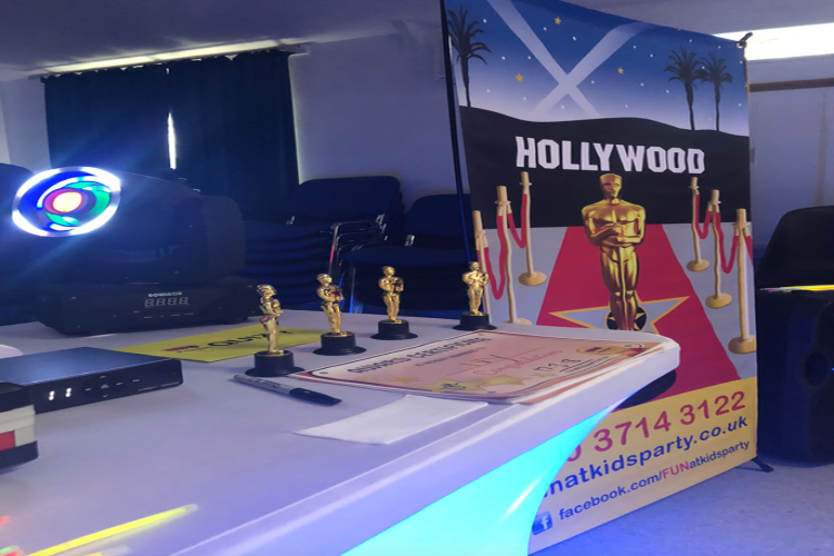Hollywood VIP Disco Children's Party