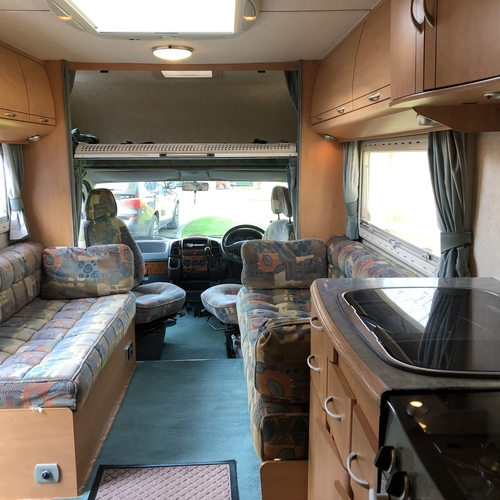 Lunar Roadstar 780 Motorhome 6 Berth Fixed Bed 34697 Miles - 2004 Fiat Ducato 2.8JTD