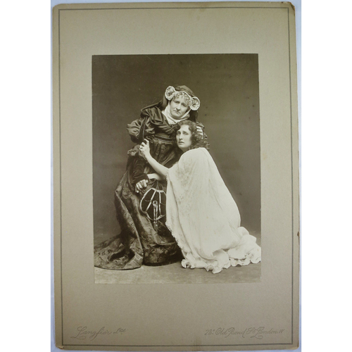 Langfier 1905 Photo Shakespeare's Juliet (Evelyn Millard) & Nurse (Mary Rorke)