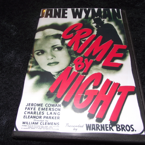 CRIME BY NIGHT 1944 DVD