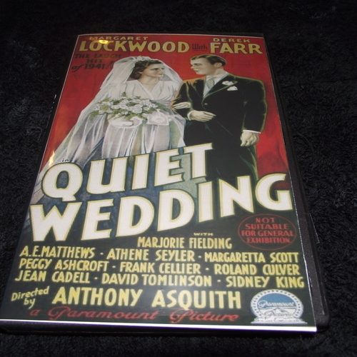 QUIET WEDDING 1941 DVD