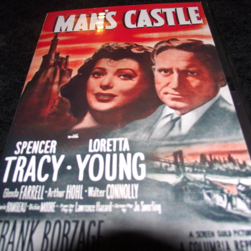 MAN'S CASTLE 1933 DVD