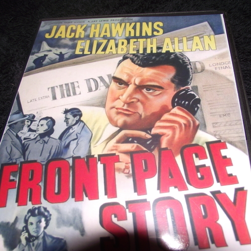 FRONT PAGE STORY 1954 DVD