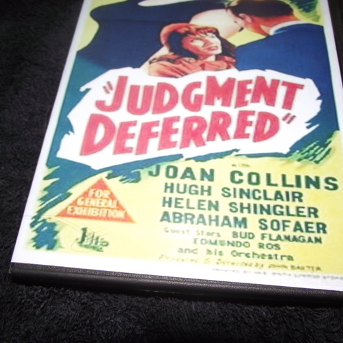JUDGEMENT DEFERRED 1952 DVD