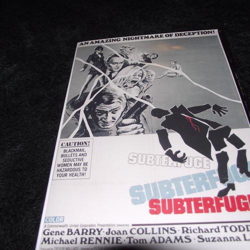 SUBTERFUGE 1968 DVD
