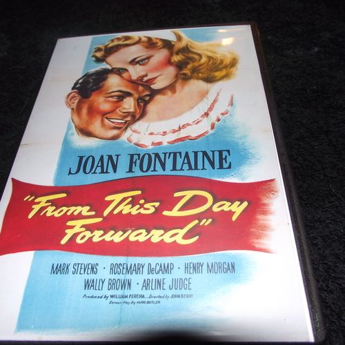 FROM THIS DAY FORWARD 1946 DVD