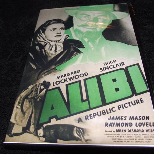 ALIBI 1942 DVD