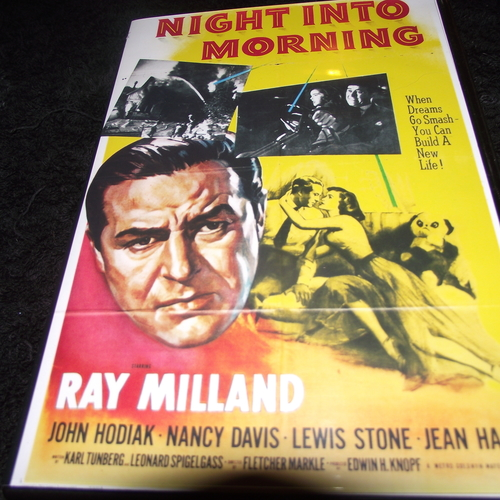 NIGHT INTO MORNING 1951 DVD