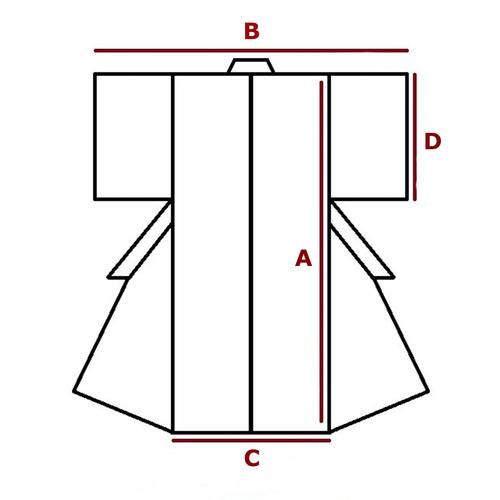 M, tomesode kimono for women