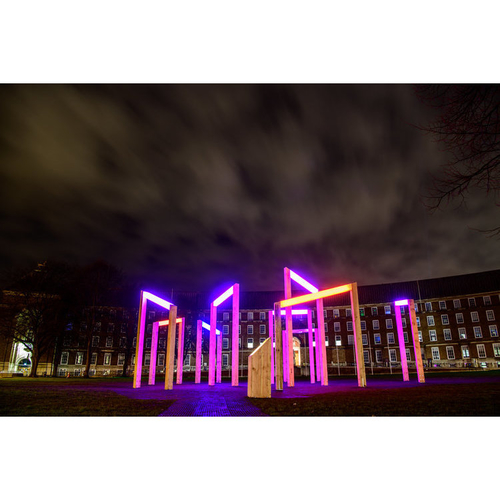 College Green Christmas Lights 2018